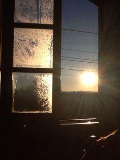 O nascer do sol ...