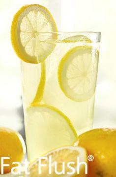 Fat Flush Lemonade- Official Fat Flush Recipe