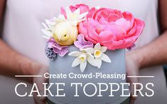 Learn to make cake toppers that complement absolutely any event! Discover an incredible array of resources that will help you create extraordinary treats and unforgettable moments.