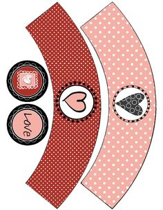 Food Art Party: Valentine's Day Freebie Cupcake Wrappers
