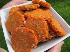 (wheat-free) broccoli tomato chicken dog treats