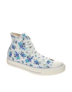 f470ab8d8 Converse All Star Floral High Top Trainers at asos.com