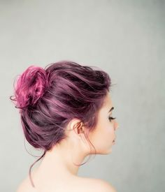 I would totally dye my hair but its bad for it.