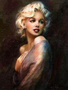 Marilyn in Art by www.fb.com/TheoDanella ... Posters/Prints: www.PVZ.net ... and many more: www.danella.de ____________