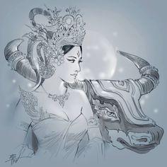 Cambodian Tattoo, Khmer Tattoo, Cambodian Art, Aries Zodiac Tattoos, Tattoo Japanese Style, Thailand Art, Buddha Tattoos, Thai Art, Indian Art Paintings