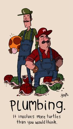 The Super Mario Brothers  Created by James Stayte