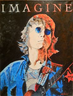 Lennon by Monica Warhol #art