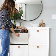 11 DIY Leather Pull Hacks to Instantly Upgrade Your IKEA Cabinets