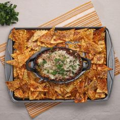 Lasagna Chips And Dip
