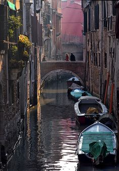Venice is possibility the most beautiful European city I've ever visited. Beautiful canals,  alleys, architecture, and, if you search, great affordable family-run restaurants! Bella!! Finally, I think it tops the scale for romance. Definitely a 'must-visit'.