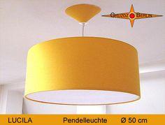 Lamp LUCILA Ø 50 cmpendant lamp with canopy  by GruzdzBerlin