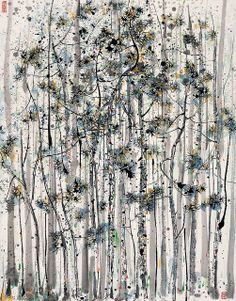 Wu Guanzong, Pine gallery, China Online Museum - Chinese Art Galleries, via Flickr