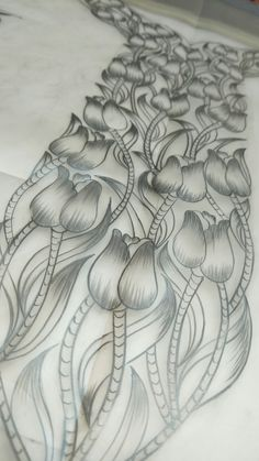 Cutwork Embroidery, Wall Patterns, Printing On Fabric, Digital Prints, Projects To Try, Couture, Suits, Abstract, Drawings
