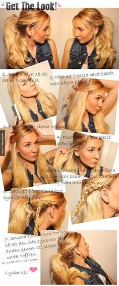Eine tolle Frisur muss nicht immer kompliziert sein!