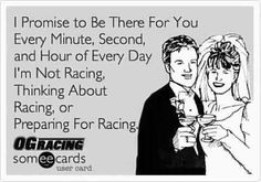 Heh heh.. Not right, but funny :) #racing