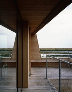 Lisa Shell designs artist's studio as a cork-clad cabin raised above a marsh Cabin Design, House Design, Maunsell Forts, Raised House, Building A Cabin, Planning Permission, Cabins And Cottages, Modern Rustic, Beach House
