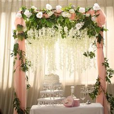 The selection of flowers takes an important place for event decoration arrangements. It is amazing how something as simple as flowers can drastically enhance the look of your event. Make your wedding outstanding with our beautiful collection of flowers Diy Wedding Flowers, Wedding Flower Arrangements, Floral Centerpieces, Wedding Bouquets, Wedding Ideas, Floral Arrangements, Wisteria Wedding, Blush Weddings, Centerpiece Wedding