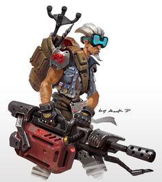 ArtStation - old man, Rock D
