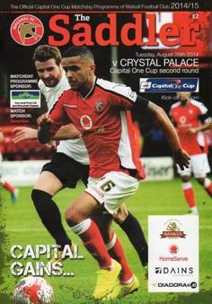 Crystal Palace vs Walsall - League Cup 2nd Round