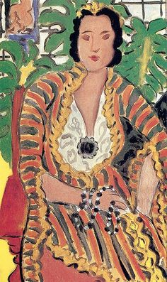 bofransson: Henri Matisse Helen with Precious Stones 1937