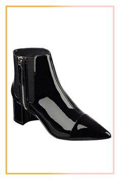 Why stick with the basic Chelsea bootie when you can shine instead? #refinery29 http://www.refinery29.com/comfortable-going-out-shoes#slide-9