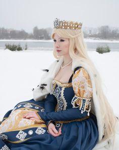 Mistress of winter lake by AgnessBlanvradica on DeviantArt