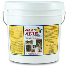 All Star All Milk Universal Instant Milk Replacer - 8 pound -- You can find out more details at the link of the image.