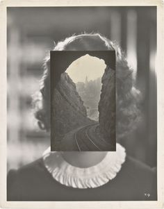 Conceptual art by ∴ John Stezaker / The Age of Collage / Photomontage, Collages, John Stezaker, Art Du Collage, Collage Drawing, Modern Art, Contemporary Art, Foto Art, Conceptual Art