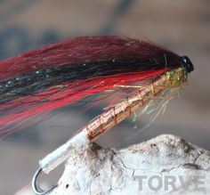 The Devil Bronse Salmon tubes flies tied by Torve