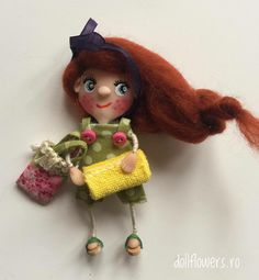 Any plans for the Weekend ? Polymer Clay Dolls