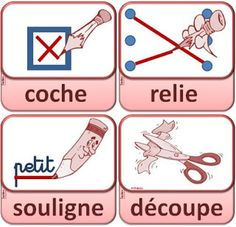 VOCABULAIRE – DOSSIER : L'école CP / CE1 / CE2 – ReCreatisse French Teaching Resources, Teaching French, Basic French Words, French Language Lessons, 28 Mai, French Classroom, Learn French, Kids Education, Childhood