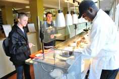 Dutch Quad: Exclusively on Dutch Quad there is the Kosher Kitchen for students who are looking for Kosher options!