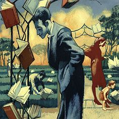 Cuadro de F. Vicente de la Feria del Libro   Edición impresa   EL PAÍS