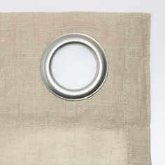 Shop for Archaeo Slub Textured Linen Blend Grommet Top Curtain. Get free delivery On EVERYTHING* Overstock - Your Online Home Decor Outlet Store! Cool Curtains, Beautiful Curtains, Hanging Curtains, Curtain Fabric, Curtain Rods, Window Curtains, Curtain Styles, Sheer Fabrics