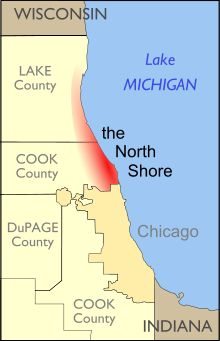 North Shore (Chicago) - Wikipedia, the free encyclopedia