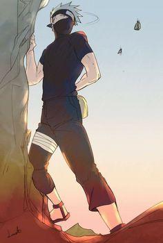 lucete on - Kakashi ♥ ♥ - Naruto Kakashi, Anime Naruto, Kakashi Sharingan, Naruto Boys, Naruto Cute, Sarada Uchiha, Sasuke Sarutobi, Narusaku, Neji E Tenten
