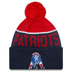 78b0e02d408 New era throwback 2015 on field knit navy.red New England Patriots  Merchandise