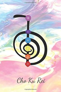 Cho Ku Rei: 7 Chakras Healing Journal for for Reiki practitioner by Light Language Print Chakra Art, Chakra Healing, Chakra Symbols, 7 Chakras, Reiki Symbols Meaning, Wicca, Magick, Usui Reiki, Reiki Training