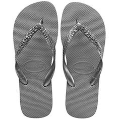 c96be945aa81f8 Havaianas Top Metallic Womens Sandals UK 1 2 Steel Grey   Want to know  more