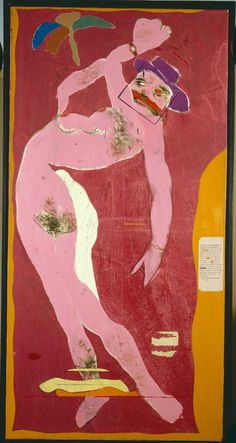 Ronald Kitaj (1932-2007) American painter and graphic artist, active mainly in England, where he has been one of the most prominent figures of the Pop art movement. Unlike the majority of Pop artists, Kitaj has had relatively little interest in the culture of the mass media and has evolved a multi-evocative pictorial language, deriving from a wide range of pictorial and literary sources-- indeed he has declared that he is not a Pop artist