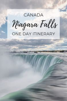 Perfect Niagara Falls itinerary for your Niagara Falls day trip. Maximise one day in Niagara Falls with history, butterflies, gardens and the iconic falls! Niagara Falls Vacation, Visiting Niagara Falls, Niagara Falls Attractions, Niagara Falls New York, Toronto Canada, Whistler Canada, Alberta Canada, Quebec, Ottawa
