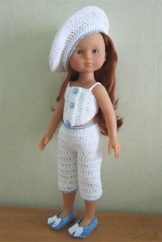 Patron tenue estivale pour poupée Chérie de Corolle