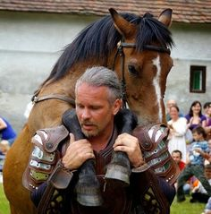 """The Hungarian cowboys, called """"Gulyas"""", have a very close relationship with their horses. Danube River, Great Plains, Animal Species, Medieval Castle, Central Europe, Art Costume, Budapest Hungary, Travelogue, Meeting New People"""