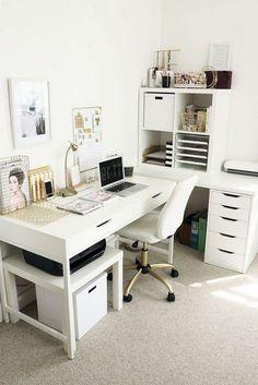 Mesa Home Office, Home Office Space, Home Office Desks, Home Office Furniture, At Home Office Ideas, Ikea Office, Furniture Ideas, Furniture Movers, Find Furniture
