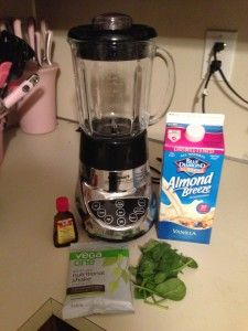 Make #OneChange With Vega One Nutritional Shake and Thin Mint Smoothie Recipe