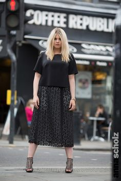 Anna Scholz Plus Size Street Style Capsule Collection
