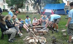 Grupo Escoteiro Iguaçu 43º SC Porto União: Acampamento na Sede 02 e 03.04.16