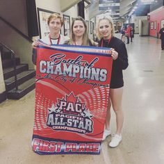 So proud of my kids! And all my cheer family !