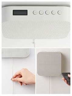 naoto fukasawa's classic wall-mounted cd player gets with the times, evolves into bluetooth streaming speakers.