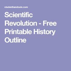 an introduction to the history of the scientific revolution Complete summary of steven shapin's the scientific revolution enotes plot summaries cover all the significant action of the scientific revolution  whereas natural history scrutinized what .